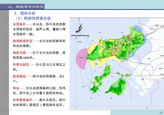 大连长兴岛临港工业区总体规划2010