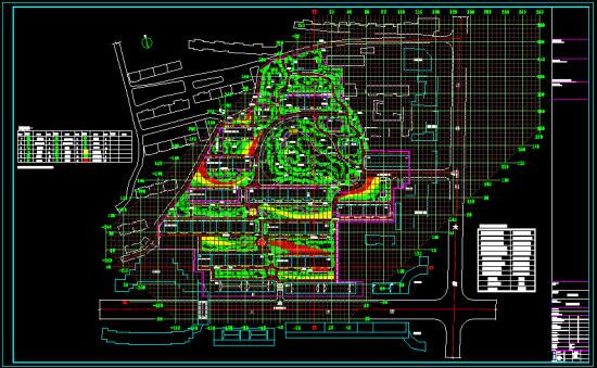 景观工程资料 景观设计方案 园林快题设计 兀术花园规划绿化设计图
