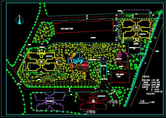高层住宅结构建筑施工图