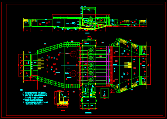 邓楼泵站电气主接线图