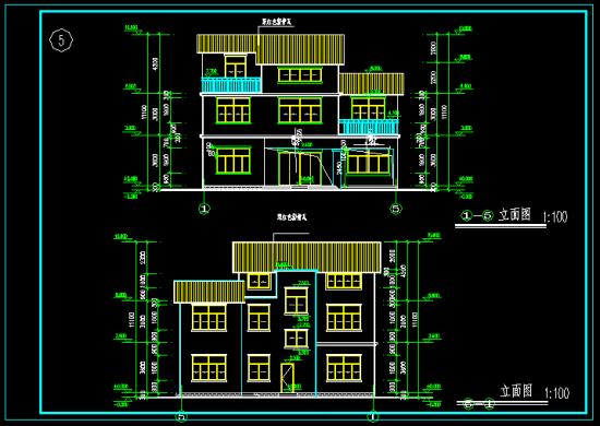 值得下载的农村别墅设计图